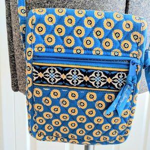 Retired Vera Bradley Riviera Blue Crossbody Bag